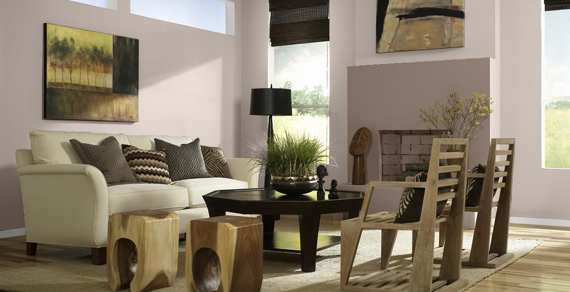 Muted Colors Living Rooms