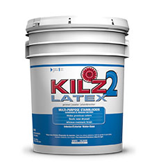 L tex kilz 2 behr pro for Kilz kilz 2 interior exterior latex primer