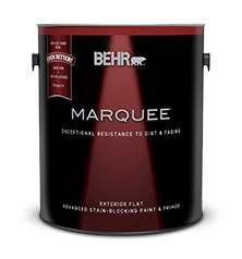 marquee exterior flat paint primer behr. Black Bedroom Furniture Sets. Home Design Ideas