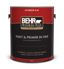 Exterior Flat Paints | BEHR PREMIUM PLUS® | Behr