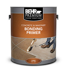 Concrete And Masonry Bonding Primer Behr Premium 174 Behr