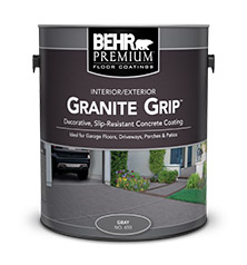 Granite Grip Concrete Paint Coating Behr Premium 174 Behr
