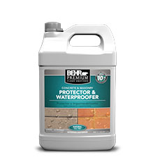 Waterproofer Protector For Concrete Amp Masonry Behr