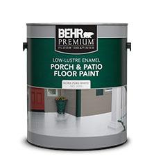 Delicieux Porch U0026 Patio Floor Low Lustre Paint   Concrete   Behr Paint