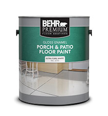 Superbe BEHR PREMIUM® Porch U0026 Patio Floor Paint   Gloss Enamel