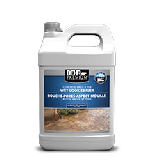 WetLook Sealer For Concrete Masonry BEHR PREMIUM Behr - Behr premium wet look sealer reviews