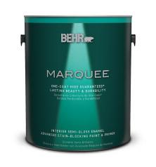 Interior Semi Gloss Enamel Stain Blocking Paint Primer Behr Marquee Behr