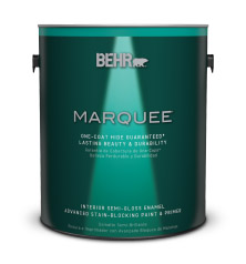 This Review Is FromBEHR MARQUEE® Interior Semi Gloss Enamel.