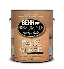 Faux Glaze Paint Behr Premium Plus With Style 174 Behr