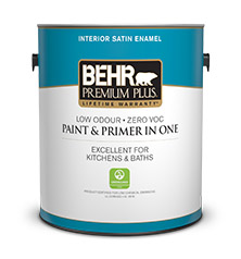 Premium plus interior satin enamel interior paint - What is satin paint ...