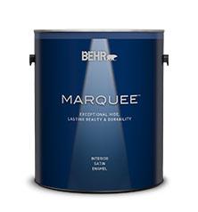 BEHR MARQUEE® Interior Satin Enamel Design