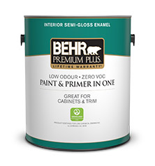 Premium plus interior semi gloss enamel interior behr - Eggshell or semi gloss ...