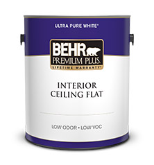 interior ceiling paint behr premium plus behr. Black Bedroom Furniture Sets. Home Design Ideas