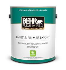 Interior Semi Gloss Enamel Paint Behr Premium Plus Behr Pro