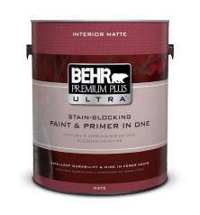 Premium Plus Ultra Matte Paint Primer Behr. Behr Marquee Paint