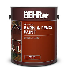 Specialty Barn And Fence Paint For Your Project Behr