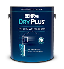Waterproofing Paint for Basement and Masonry | DryPlus™ Masonry Waterproofer | Behr  sc 1 st  Behr & Waterproofing Paint for Basement and Masonry | DryPlus™ Masonry ...