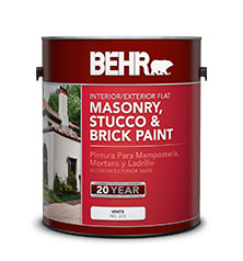 Interior Exterior Masonry Stucco And Brick Flat Paint