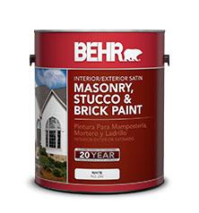Interior exterior masonry stucco and brick satin paint - Benjamin moore exterior wood primer ...