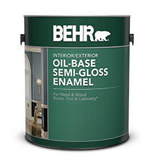 Oil base semi gloss enamel paints for your project behr - Exterior paint and primer in one reviews ...