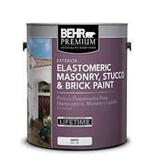 Specialty Elastomeric Masonry, Stucco, and Brick Paint | BEHR ...
