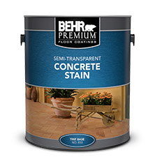 SemiTransparent Concrete Stain BEHR PREMIUM Behr - Behr premium wet look sealer reviews
