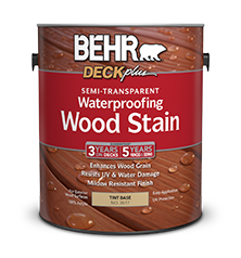 semi transparent waterproofing wood stain behr paint