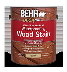 Semi Transparent Waterproofing Wood Stain Behr Paint