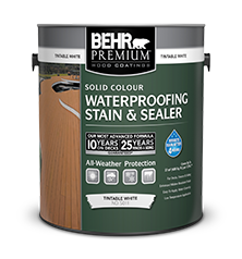 premium solid colour weatherproofing wood stain behr paint