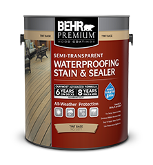 premium semi transparent weatherproofing wood stain behr paint