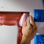 Pintar los recovecos del panel.