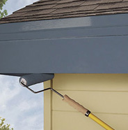How To Paint Exterior Trim Fascia And Doors Behr