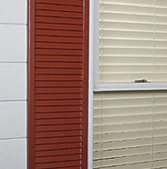 Completed shutter.