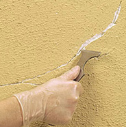 How to repair a crack on exterior stucco surface behr - How to repair exterior stucco cracks ...