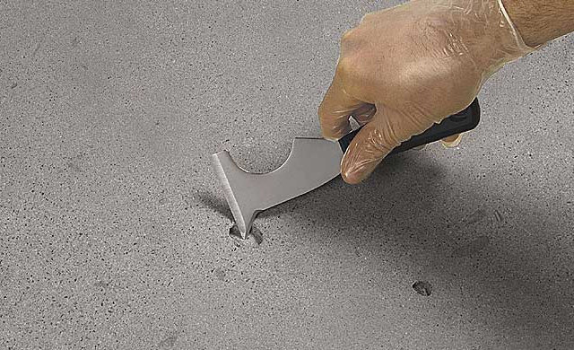 Repair A Hole On Concrete Surface