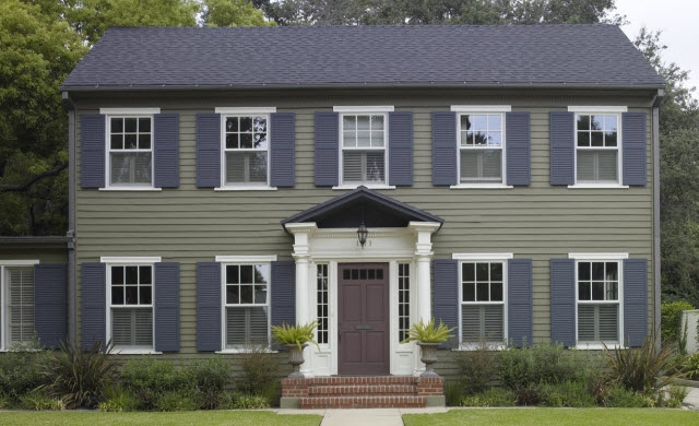 Expert Advice On How To Paint Shutters Behr