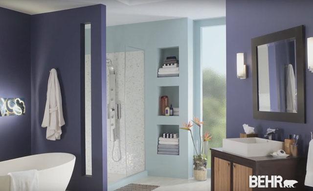 comment choisir le lustre d 39 une peinture int rieure behr. Black Bedroom Furniture Sets. Home Design Ideas