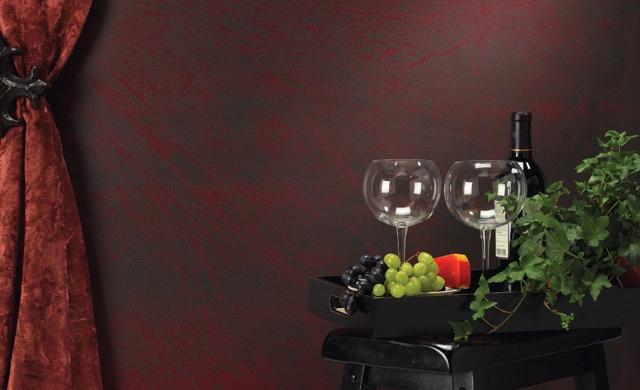 Bandeja con botella de vino, 2 copas y uvas