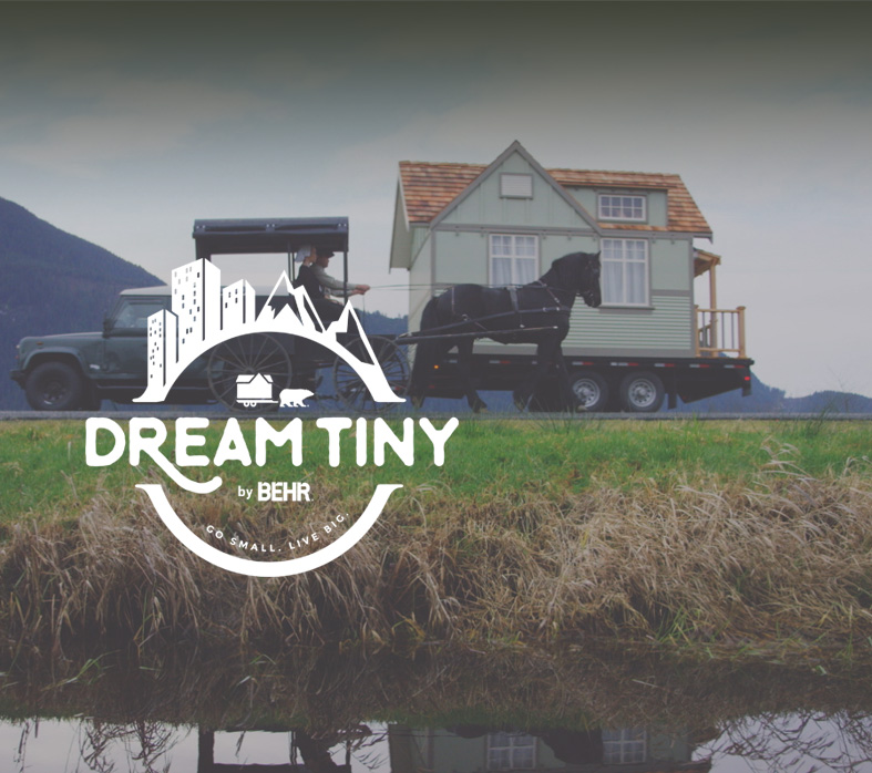 dream tiny | tiny house design sweepstakes | behr