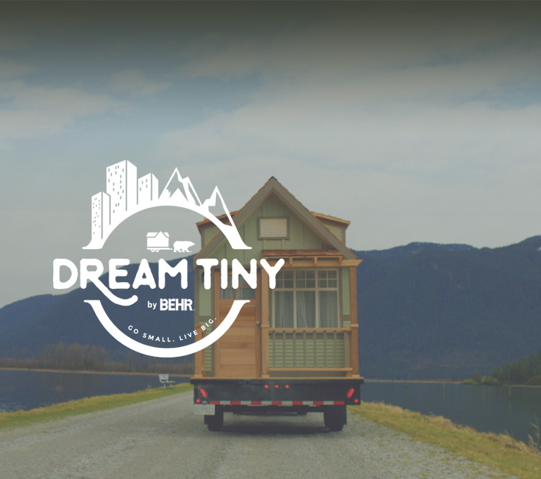 dream tiny | tiny house design sweepstakes | behr