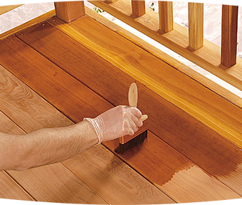 Expert Advice On How To Stain A Deck Behr