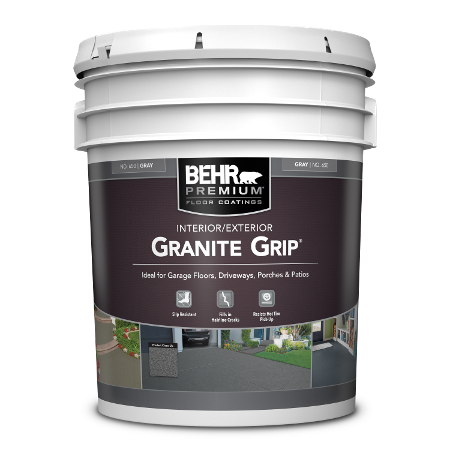 BEHR PREMIUM Granite Grip 5 Gallon can image.
