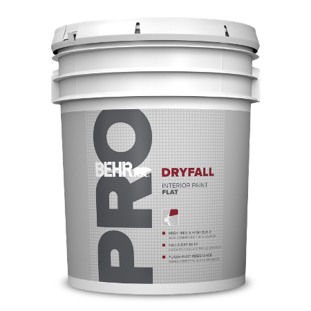 BEHR PRO DryFall 5 Gallon product can Image.