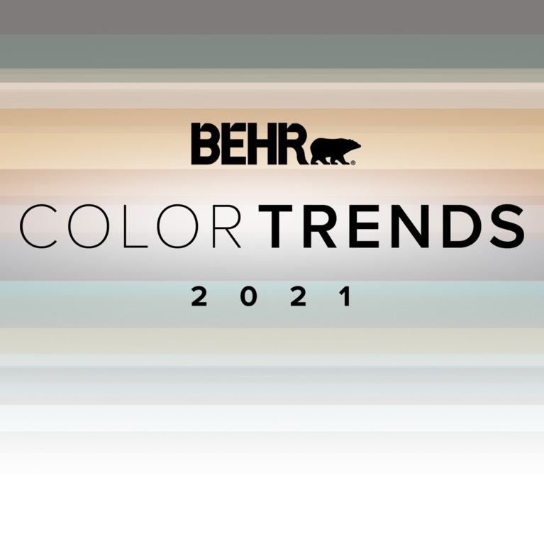 BEHR Color Trends 2021 Cover mobile view