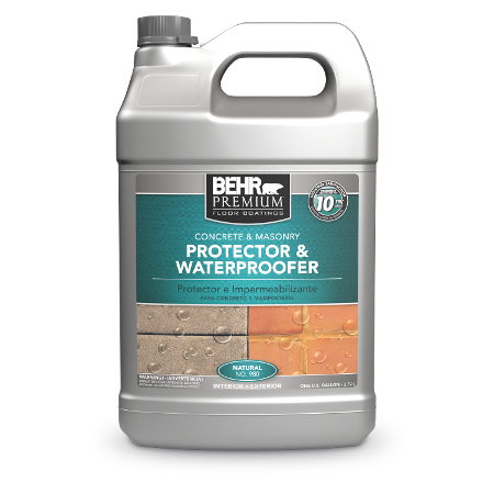 Jug of concrete & masonry protector & waterproofer