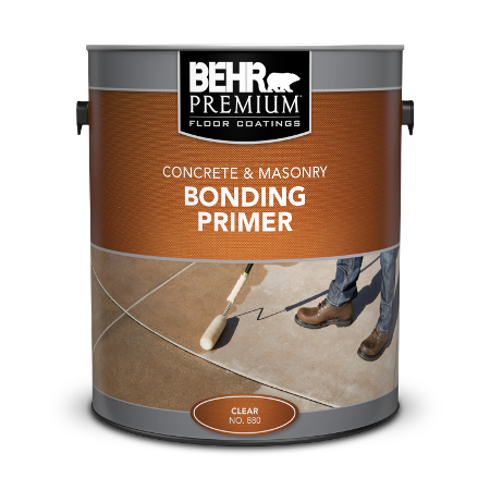 Can of concrete & masonry bonding primer