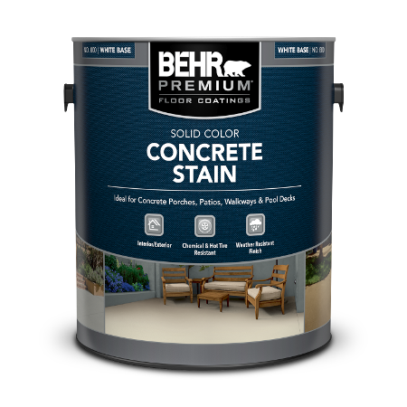 One gallon can of Solid Color Concrete Stain