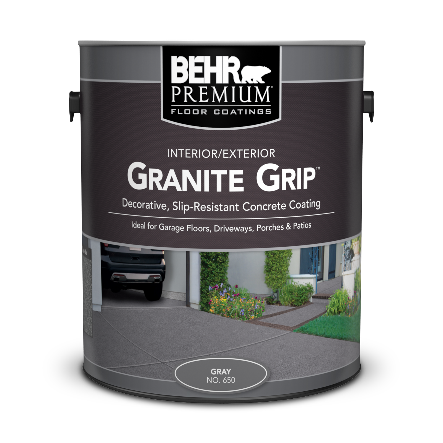 Can of granite grip