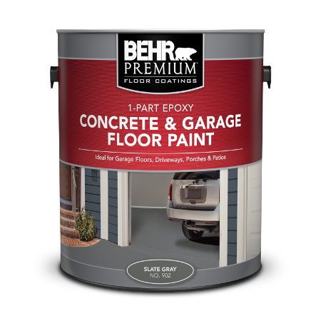 1-Part Epoxy Concrete & Garage Floor Paint | BEHR PREMIUM® | Behr