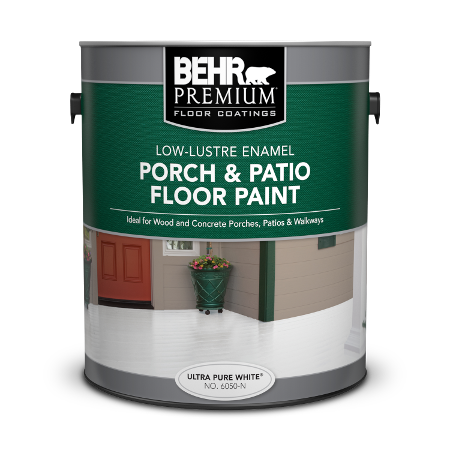 Can of porch & patio floor paint